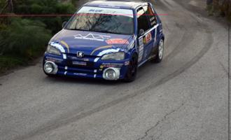 RALLYE DEI NEBRODI – Lo Cascio-Castelli su Peugeot primi leader del  20° Rallye dei Nebrodi