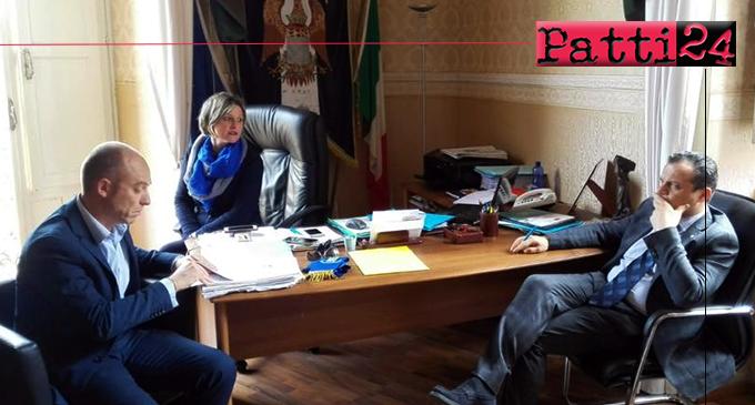 PATTI – Cateno De Luca, Sindaco della Città Metropolitana di Messina, in visita istituzionale.