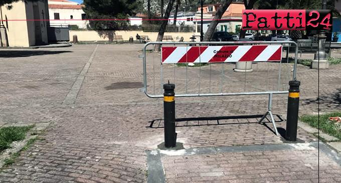 MILAZZO – Interdetto l'accesso delle auto in piazza San Papino