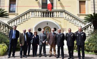 MESSINA – Vertice interregionale fra Carabinieri e Provveditorato  alle OO.PP. su importanti iniziative infrastrutturali in Sicilia e Calabria.