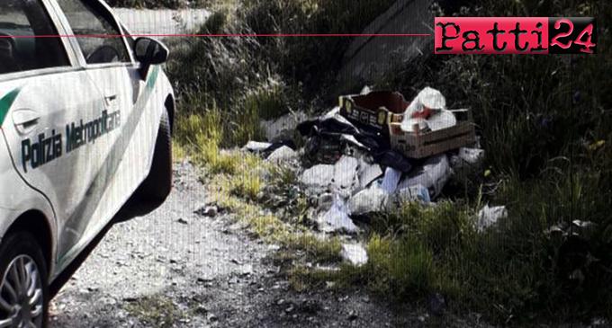 MESSINA – Abbandono di rifiuti ai margini delle strade, individuati e sanzionati i responsabili.