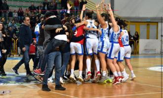 """PATTI – l'Alma Basket ha conquistato """"gara 3"""" delle finali play off regionali."""