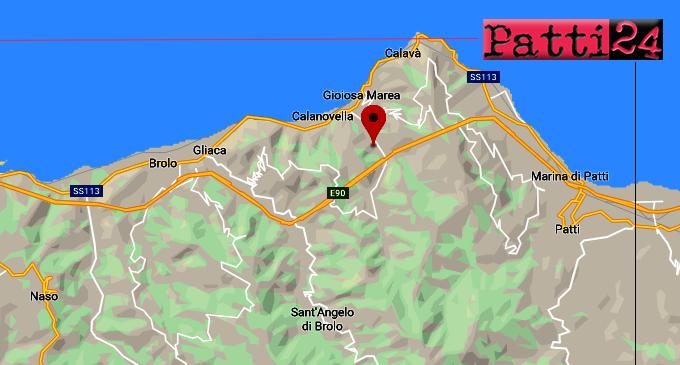 GIOIOSA MAREA – Nella notte, lieve sisma di ML 2.3, ipocentro a 14 km con epicentro a 1 Km da Gioiosa Marea.