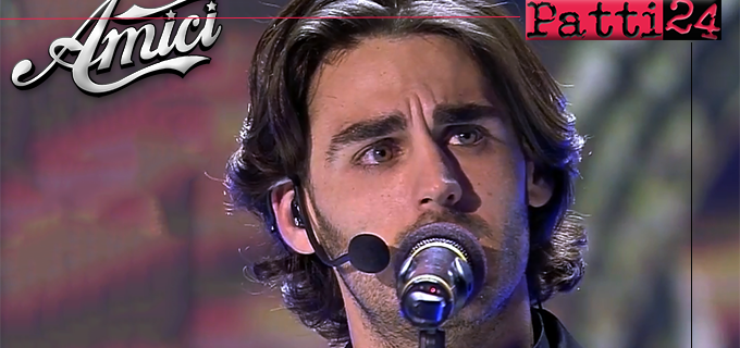 """MESSINA – 2 maxi schermi per la finale di """"Amici"""" con il giovane tenore messinese Alberto Urso"""