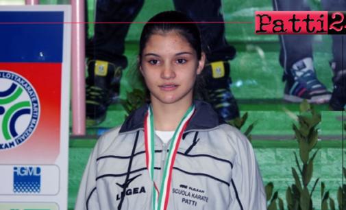PATTI – 5° posto per la pattese Anastasia Orlando  nei Campionati Italiani Universitari di karate.