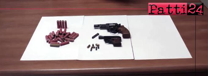 MISTRETTA – Detenzione abusiva di armi. Arrestato un 64enne.