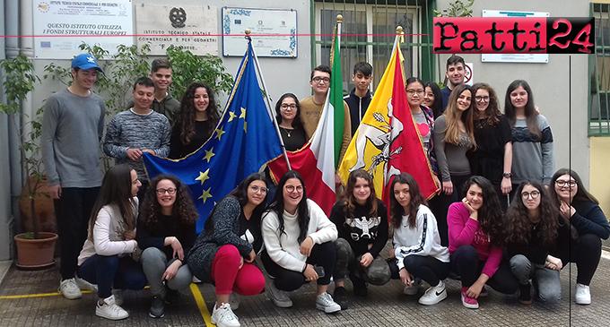 """PATTI – Conoscere I Trattati: per un' Europa più forte e più equa""""- Primo Premio al Borghese-Faranda di Patti"""