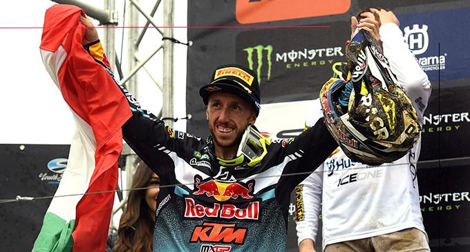 MXGP – Tony Cairoli vince il Gran Premio di Lombardia. Potrebbe aver costituito una pietra miliare nella corsa  al suo decimo titolo iridato .