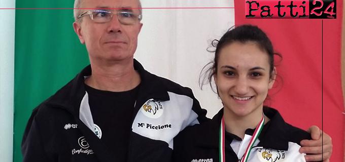 PATTI – La pattese Veronica Orlando ha conquistato la medaglia di bronzo al Campionato Regionale Cadetti di karate – specialità kumitè