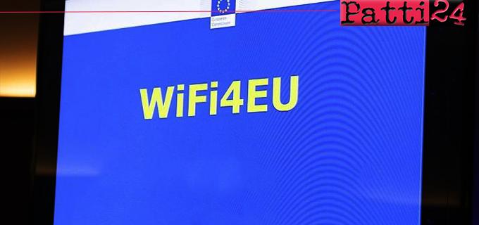 CAPO D'ORLANDO – WiFi4EU, al Comune 15mila euro per il Wi-Fi gratuito