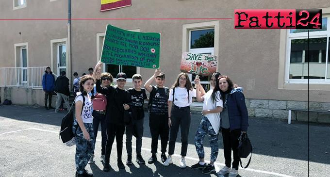"""PATTI – Progetto """"Erasmus plus"""". Per gli studenti della """"Bellini"""" tappa di """"Beecome"""" a Marvejols in Francia."""