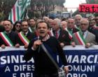 MESSINA – Ex Province, De Luca consegna la fascia di Sindaco della Città Metropolitana in Prefettura