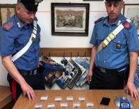 FURNARI – In un parco pubblico con 22 dosi di sostanza stupefacente. Arrestato 21enne