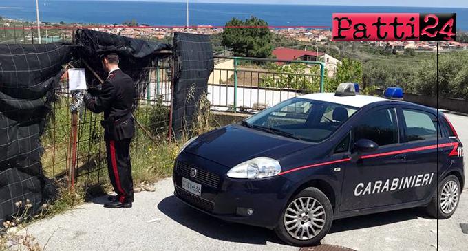 FALCONE – Sequestrata area comunale adibita abusivamente a deposito di veicoli.