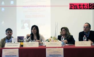 """PATTI – La scrittrice Nadia Terranova ha incontrato gli studenti del Liceo """"Vittorio Emanuele III"""""""