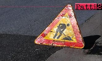 PATTI – Lavori condotta idrica e fognaria di alcuni tratti di via Manzoni, Salita Monastero, via Agonizzanti e contrada Scattiola.