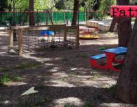 PATTI – Richiesta di finanziamento per due parchi gioco inclusivi per bambini disabili.
