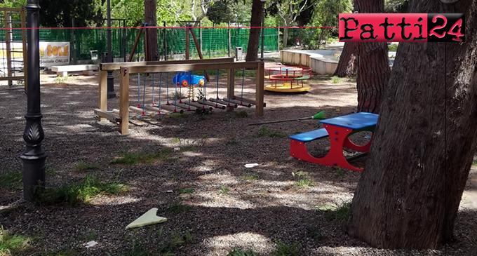 """PATTI – Chiarificazioni della Cooperativa """"Raggio di Sole""""  in merito alla situazione in cui versa il Parco Robinson."""