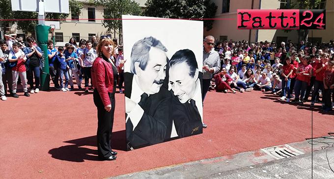 PATTI – Progetto Legalità. Stamani la manifestazione conclusiva  dell'I.C. Lombardo Radice