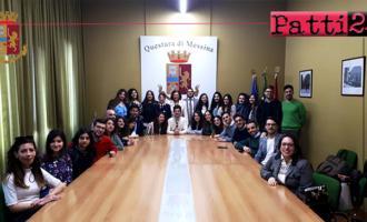 MESSINA – La Questura di Messina apre le porte dei propri uffici agli studenti del locale ateneo universitario