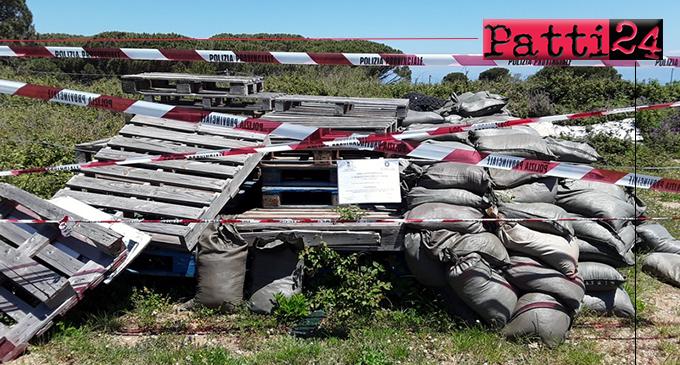 MESSINA – Sequestrate due discariche abusive a Castanea, per complessivi 18.000 mq di terreno