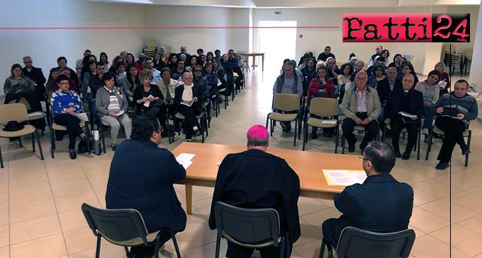 """PATTI – """"Come lievito nella pasta"""". Incontri su il cammino percorso nelle singole parrocchie della diocesi."""