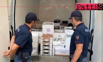 BROLO – Sequestrati 170 chili di pesce in cattivo stato di conservazione.
