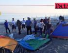 SANT'AGATA DI MILITELLO – Accampamento nomadi abusivo smantellato e area totalmente bonificata.