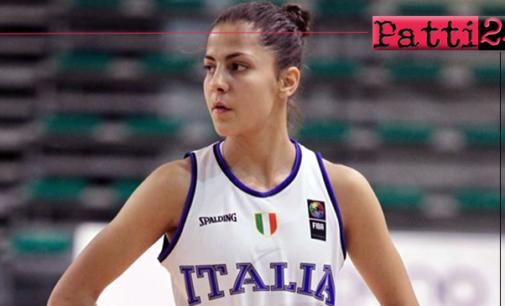 PATTI – Beatrice Stroscio disputerà, a Sarajevo, il Campionato Europeo under 18 di basket femminile.