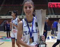 PATTI – Da Patti al tetto d'Europa! Beatrice Stroscio ha vinto con la Nazionale il titolo europeo under 18 di basket femminile