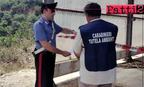 SANTA LUCIA DEL MELA –  Sequestrato allevamento di bestiame per violazioni in materia ambientale.