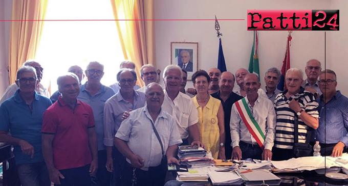 MILAZZO – Dopo 50 anni dal diploma ex alunni tornano a visitare le loro aule al Comune