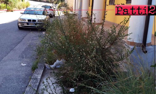 PATTI – La circonvallazione Ponte Provvidenza -Sant'Antonio necessita di intervento di pulizia e di bonifica.