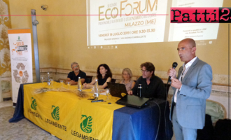 MILAZZO – Il sindaco Formica all'Ecoforum provinciale di Legambiente