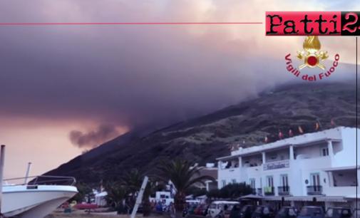 STROMBOLI – Violenta eruzione di Stromboli. Morto 35enne escursionista.