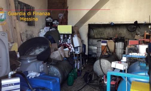 NOVARA DI SICILIA – Sequestrati 1.500 litri di gasolio tra agricolo e naturale privo della  documentazione.