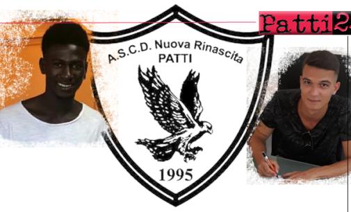 PATTI – Nuova Rinascita Patti. Arrivano Francesco Fagone e Ussman Jaiteh
