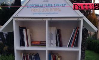 """GIOIOSA MAREA – """"Sviluppare la cultura della cultura"""". Realizzate tre librerie all'aperto."""