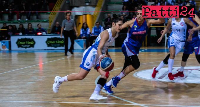 PATTI – Alma Basket. Confermata l'ala Martina Lombardo.