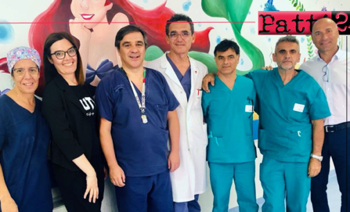 TAORMINA – Ospedale. Raro intervento salvavita su un bimbo di 7 anni nel Centro di Cardiochirurgia Pediatrica.