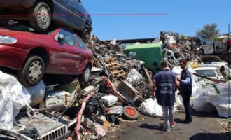 CAPO D'ORLANDO – Sotto sequestro deposito di rifiuti speciali e pericolosi.