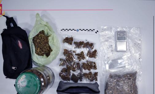 MESSINA – Più di 650 gr. di stupefacente occultati in camera da letto. Arrestato 31enne.