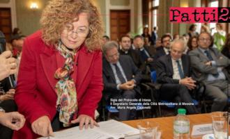 """MESSINA –  """"Protocollo Interistituzionale per la prevenzione e il contrasto della violenza di genere nella Provincia di Messina"""""""