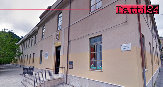 PATTI – Finanziati lavori di adeguamento sismico, adeguamento impianti e manutenzione straordinaria scuola Lombardo Radice