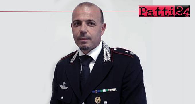 SANT'AGATA DI MILITELLO – Il Maggiore Marco Prosperi è il nuovo Comandante della Compagnia  Carabinieri.