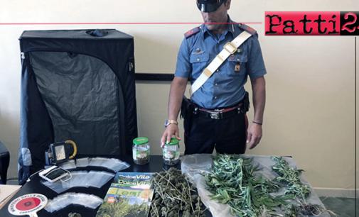 SAN PIER NICETO – Deteneva marijuana e coltivava in casa piante di canapa. Arrestato 26enne