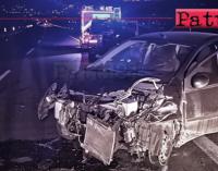 A20 – Incidente stradale autonomo in galleria Mongiove. 40enne milazzese rimasto lievemente ferito.