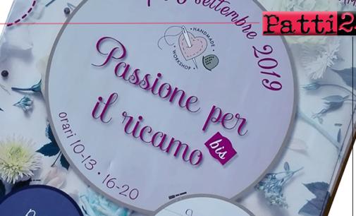 """GIOIOSA MAREA – Condividere arte e creatività con """"Passione per il ricamo"""".  """"Appassionati"""" da tutta Italia per esposizioni di manufatti e corsi ."""