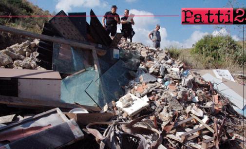 MESSINA – Sequestrata area adibita a discarica di amianto in contrada Feo a  Faro Superiore.