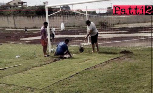 PATTI – Stadio Gepy Faranda. 8 anni fa, c'era una mucca che pascolava  all'interno … l'Ass. Terzo Tempo lascia la gestione.
